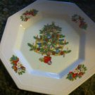 FAIRFIELD china PEACE ON EARTH pttrn SALAD PLATE
