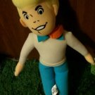 Rare SCOOBY Fred Freddie BY TOY FACTORY PLUSH DOLL