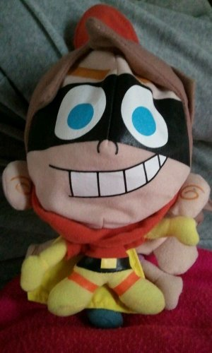 Nickelodeon FAIRLY ODD PARENTS 2 iN 1 2003 plush Super Timmy Flip doll Viacom