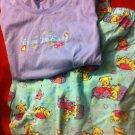 PUPPIES Girls 1X  Pjs Set, PAJAMAS Shirt &Pants
