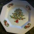 FAIRFIELD china PEACE ON EARTH pttrn DINNER PLATE