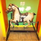 Rare Vintage Classic 1960's Rocking Wonder Horse Near Perfect All Parts Intact