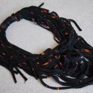 Designs By Amy One Of A Kind Black NecklacE Scarf~Rare Cotton Handmade