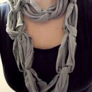 Designs By Amy 1Of A Kind Circular ScArf Handmade Choose Pink Or Gray