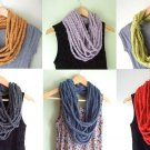 Designs By Amy One Of A Kind Infinity Scarf~Rare Braided Scarf Handmade