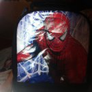 NWT - Spiderman 3 - Blue 2 Compartment Insulated Lunch Tote / Bag w/ Handle