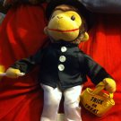 WITCH CURIOUS GEORGE Plush Halloween Costume Trick-Or-Treat-