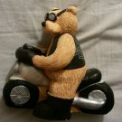 HARLEY DAVIDSON TEDDY BEAR BIKE RIDER