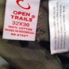 Mens Open Trails Camo Cargo pants Size 32x30