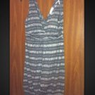 Fabulous Chelsey Glittery Striped Dress With Beautiful Accent Strap L