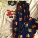 Mens Small SOUTH PARK PJ Pajama Lounger Sleeper Pants & Shirt