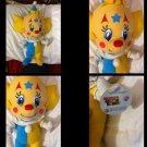 Nanco Bozo's Clown Babies Plush Yellow With Tag