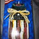 Yankee Candle Patriotic Jar Americana Red White Blue NIB