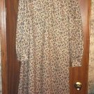 Vtg 50's Handmade Floral Dress! One Of A Kind!