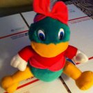 Adorable Green Girlie Girl Duck Plush Stuffed Animal