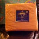 ROYAL CROWN 600 TCT PEACH FULL DEEP POCKET SHEET SETS 4  pillow cases