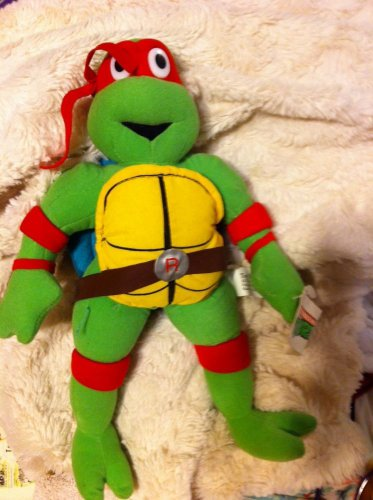 Raphael Teenage Mutant Ninja Turtles Plush Doll  With Tags 2002
