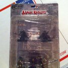 MAGE KNIGHT DUNGEONS: HEROIC QUESTS Collectible Miniatures Game with 5 Figures
