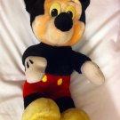 Vintage EUC Mickey Mouse Plush  sitting Disneyland Walt Disney World