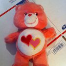 Talking Pink luv-alot-bear- Care Bear toy