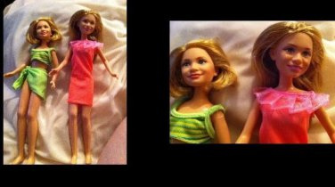 Vintage Mary-Kate and Ashley Barbie Dolls