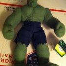 "Marvel THE INCREDIBLE HULK 12"" stuffed plush w/tag by Kellytoy"