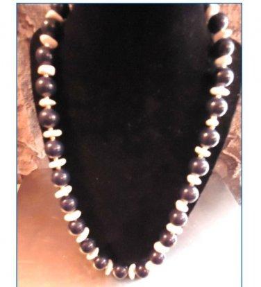 Handmade Round Gemstone Beads Necklace