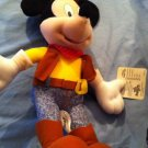 Too Cute Disney Cowboy Mickey Mouse Plush *