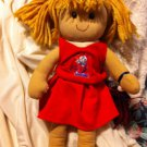 "Approx 15"" OLE MISS REBELS CHEERLEADER DOLL"