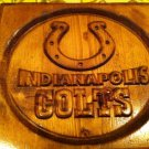 Indianapolis Colts Team Wooden Piaque