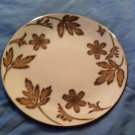 "ROYAL GALLERY Platinum Buffet   ""Golden Leaf"" Accent Salad Plate,EUC"