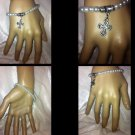Handmade Comfort cross Pearl bead  bracelet; Detailed Cross Charm