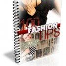 ~*~ 100 Fashion Tips eBook ~*~