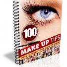 ~*~ 100 Makeup Tips eBook ~*~