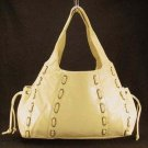 Tan Lucy Marcelle Drawstring Tote Handbag Purse Bag