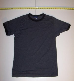 New Gray / Black BDg Size Large T - Shirt