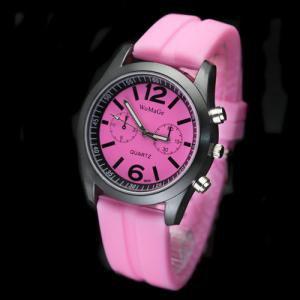 Silicone Jelly Gel Quartz Analog Sports new Watch #426 Free shipping