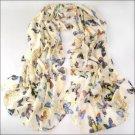 NEW Butterfly Fashion Long Soft Shawl Scarf #80