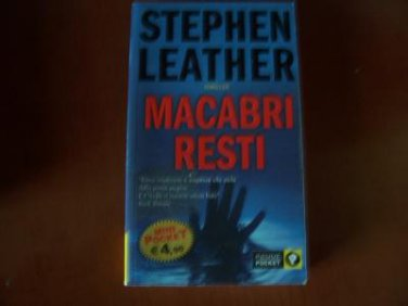 Italy Book : Stephen Leather Macabri resti libro #40