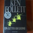 Italy Book Ken Follett :un letto di leoni.#20 libro