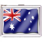 H5S439 Cigarette Case with lighter Australia Flag Picture Free shipping
