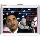 H5S52 Cigarette Case with lighter Barack Obama Picture Free shipping
