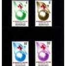 BURUNDI 53-6 MNH Red cross