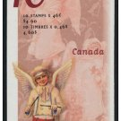 Canada - 1815a 46c Christmas Angel Booklet
