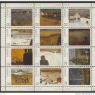 Canada 1027a MNH Sheet, Art, Paintings, Canada Day
