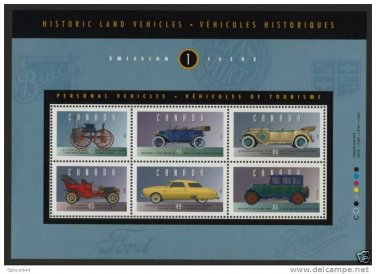 Canada 1490 MNH Vintage Cars