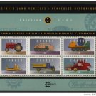 Canada 1552 MNH Vintage vehicles, Tractor, Combine