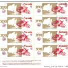 Canada 1976 Summer Olympic Games $2 Stamps Block of 8 mnh