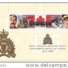 Canada 1998 RCMP 125th Anniversary Souvenir Sheet 1737b