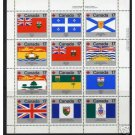 Canada 832a MNH FLAGS